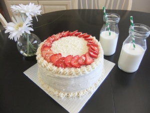 Vanilla & Strawberries