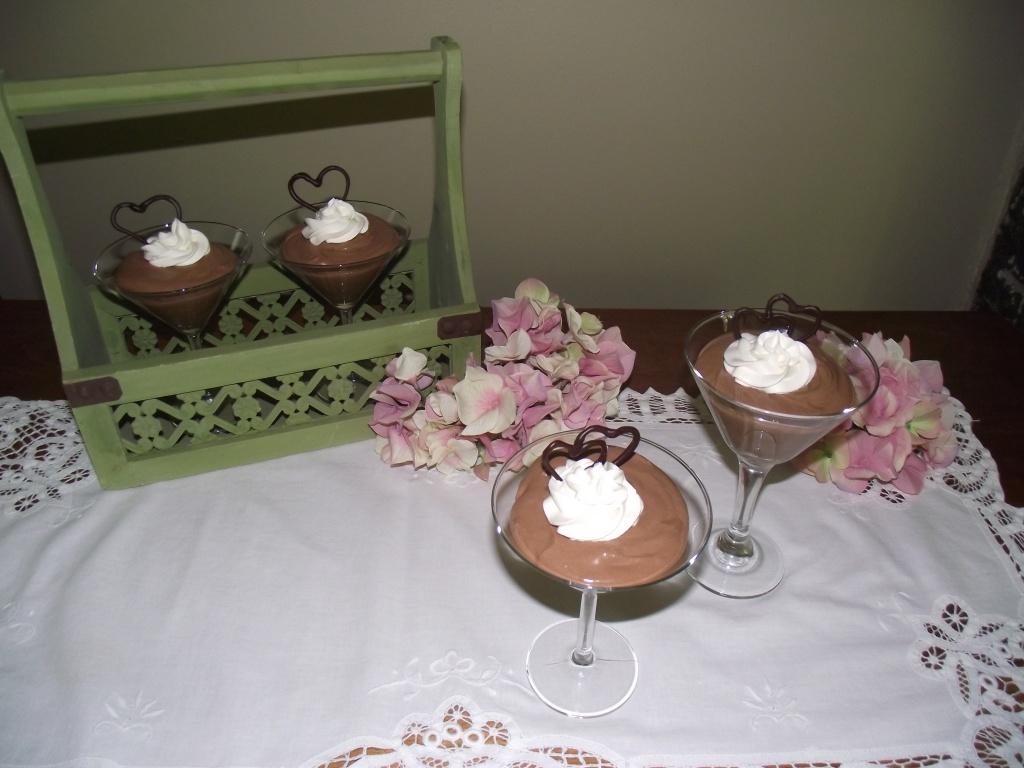 Chocolate Whiplash Coupes