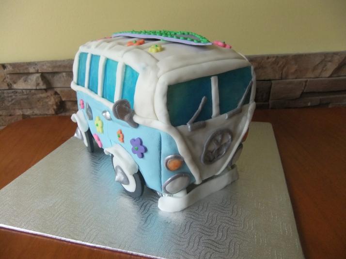 Groovy Birthday Cake
