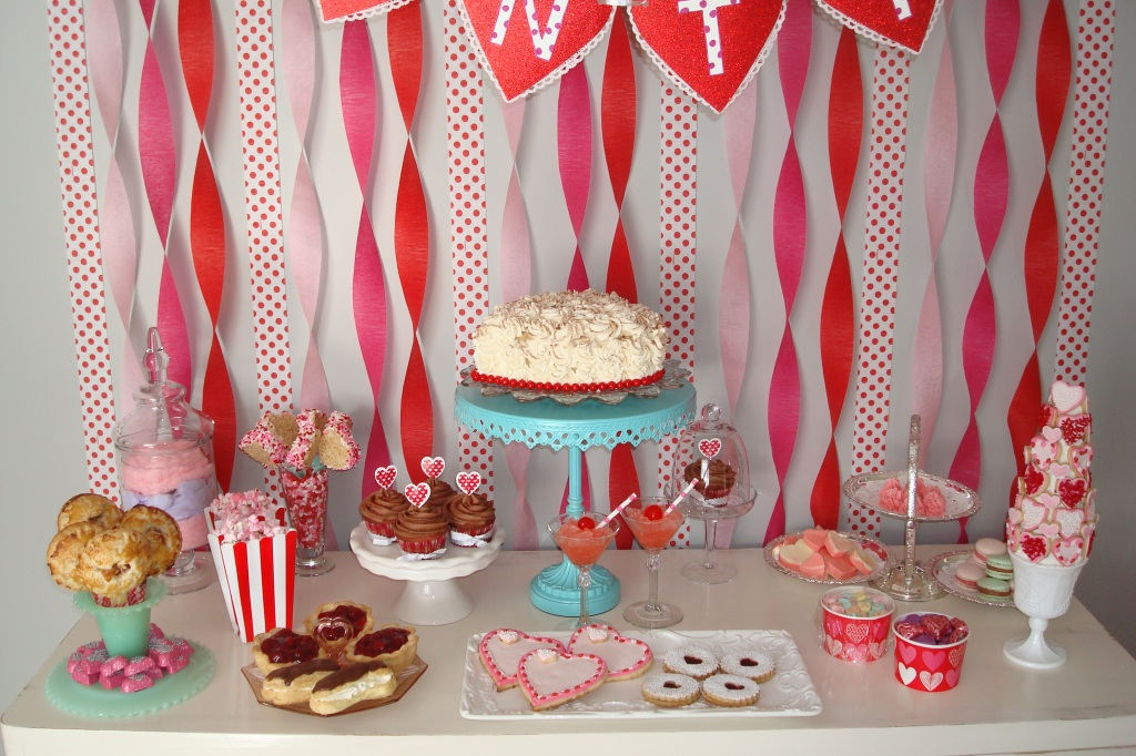 Valentine's SWEETS Table