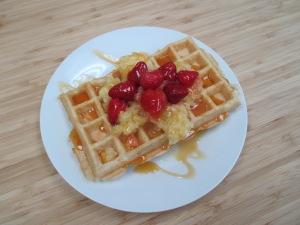 Gluten-Free & Lactose-Free Belgium Waffles.